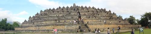 Borobudur panorama-s
