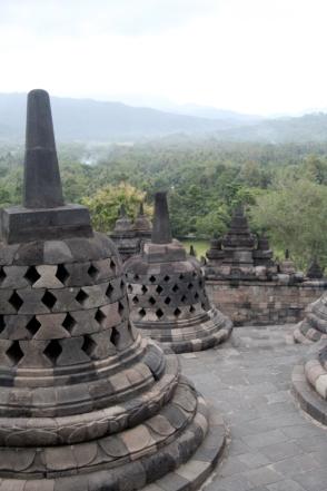 Borobudur stupas 2