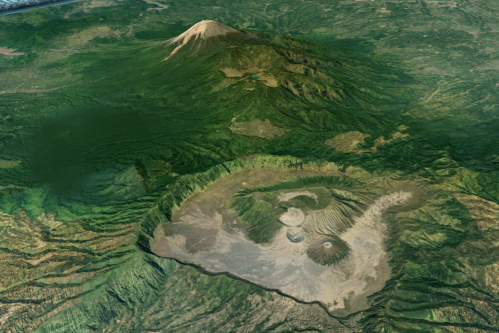 Bromo Caldera and Semeru