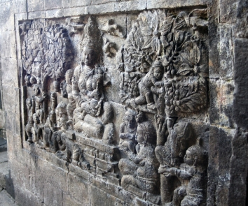 Buddha consort panel