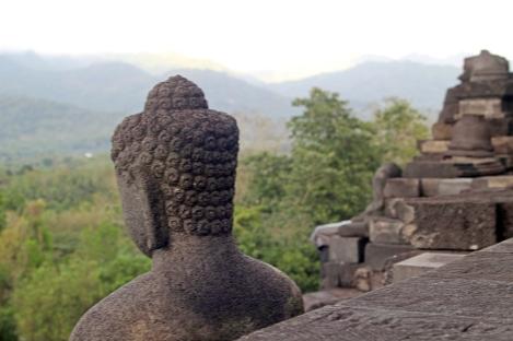 Buddha hair detail