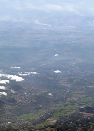 Central Java from air