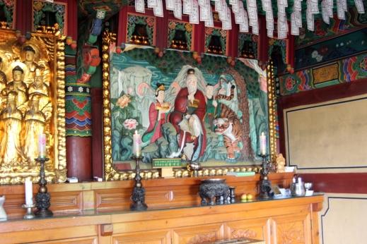 Confucious altar