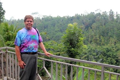 David at coffee plantation