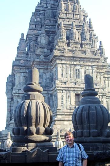 David at Prambanan