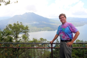 David by Lake Batur