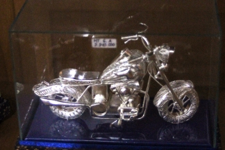 Harley Indian silver