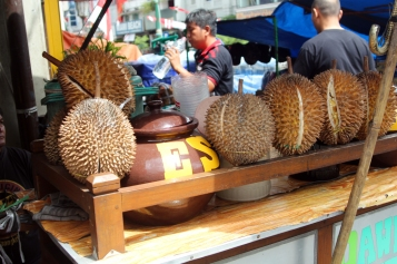 Ice Durian fruit