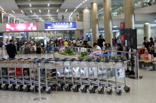 Incheon airport interior