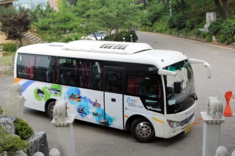 Incheon tour bus