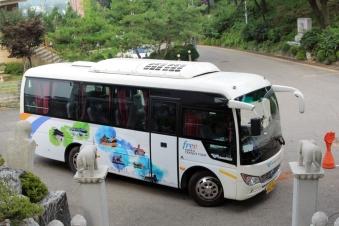 Incheon tour bus