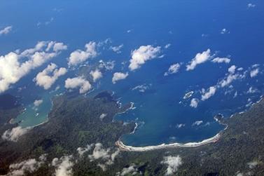 Java coastline