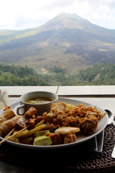 Lunch with Mt. Batur