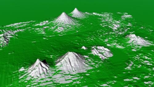 Merapi volcanoes