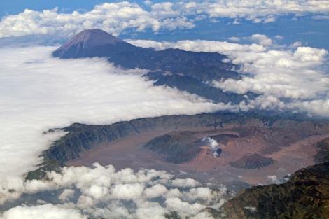 Mt. Bromo caldera