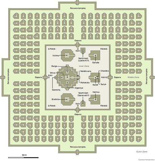 Prambanan Map