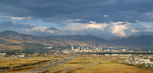 Salt Lake City landing