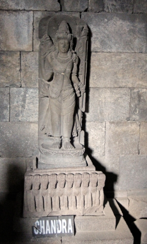 Statue of Chandra