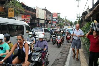 Ubud traffic