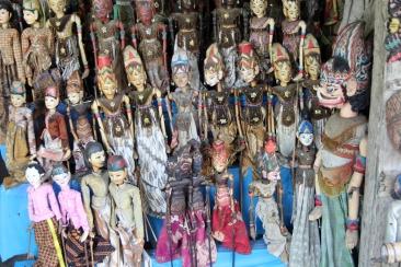 Wayang puppets