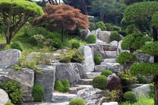 Zen stairway