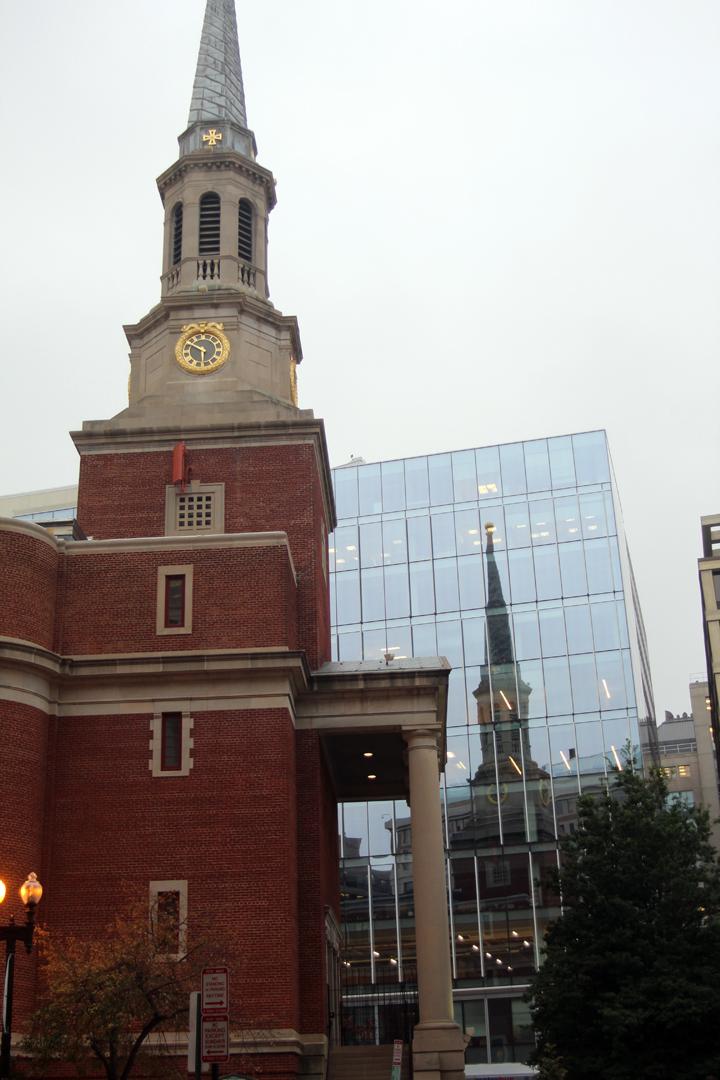 Church near hotel