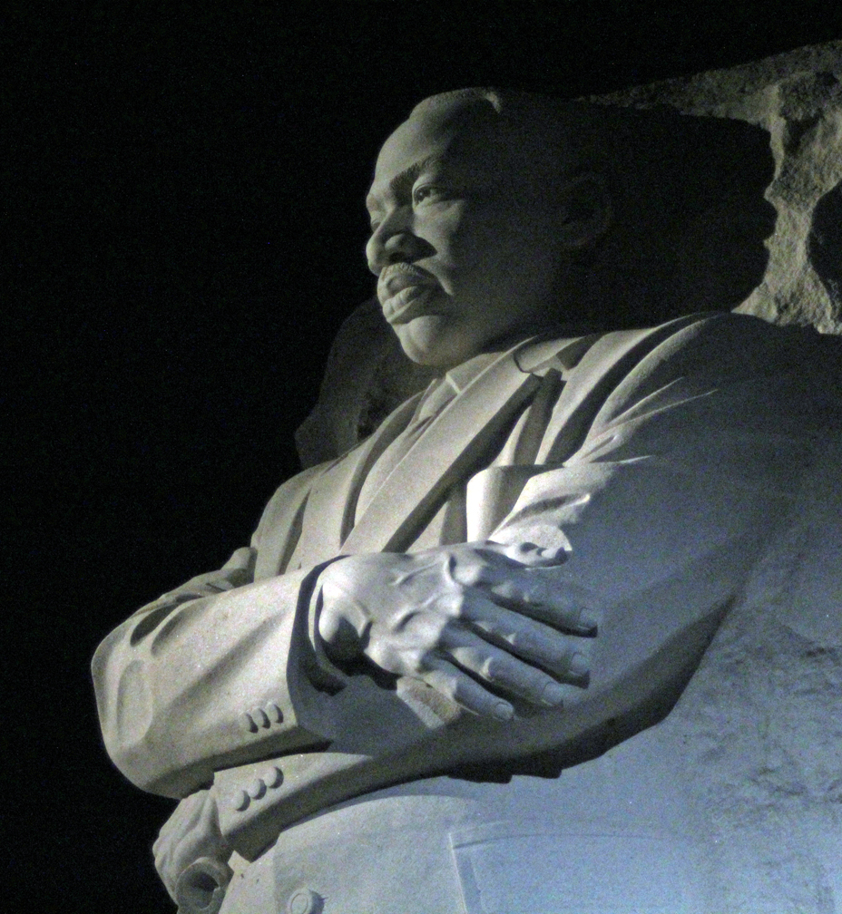 Dr King gazing out
