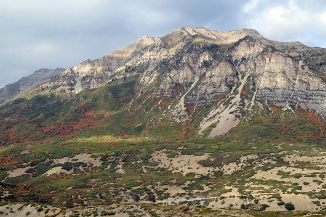 Fall colors on Timp