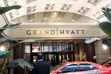 Grand Hyatt entrance