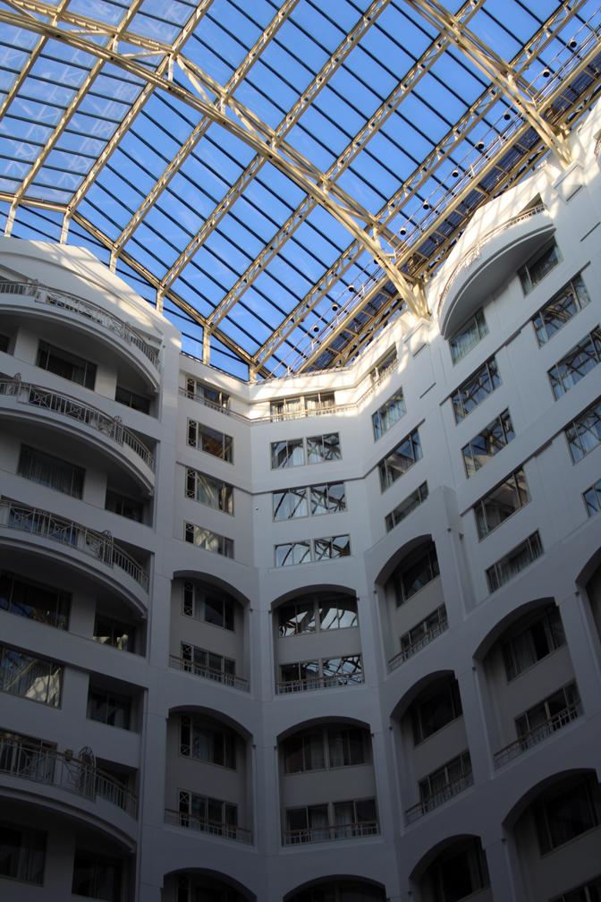 Hyatt interior court