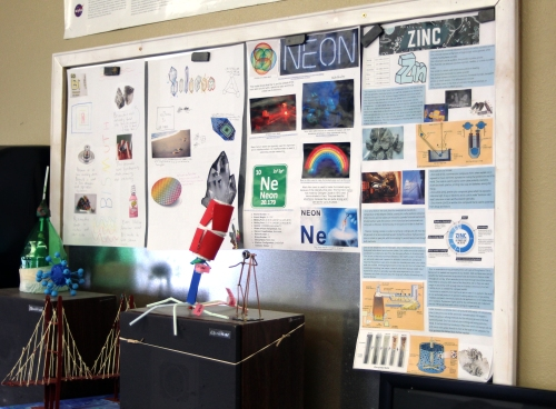 Element posters and virus models