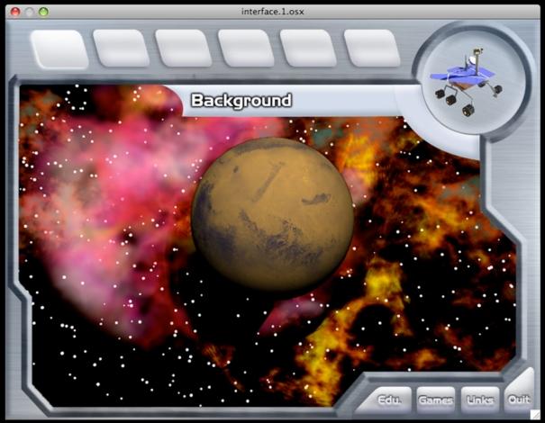 Mars Exploration main interface-s