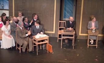 Trial scene
