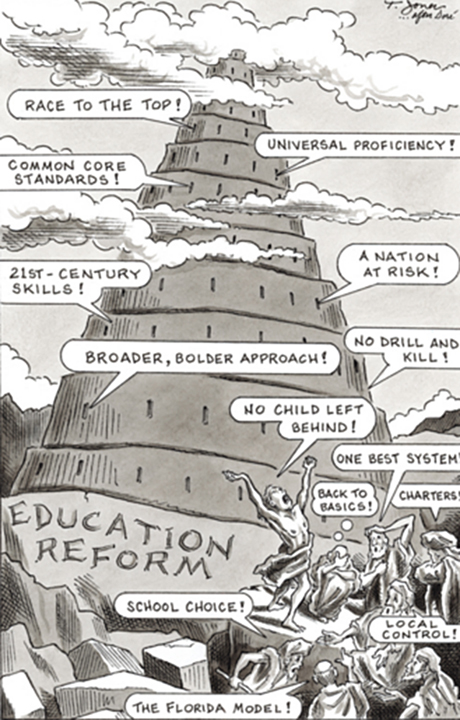 Tower of Education Babel