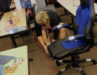 Musical chair Makey game