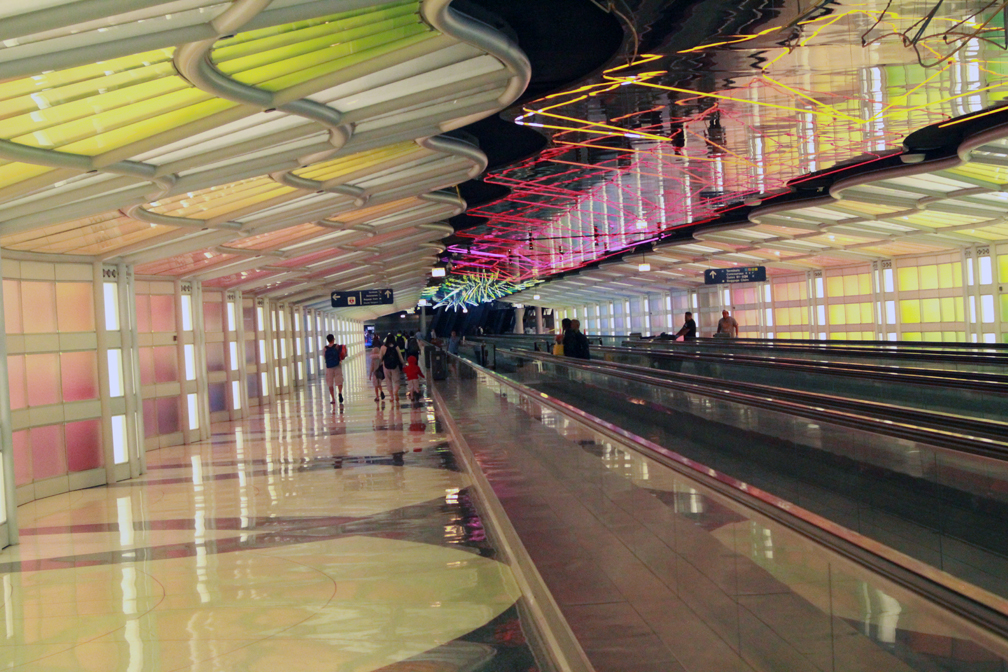 Underground passage at O'Hare