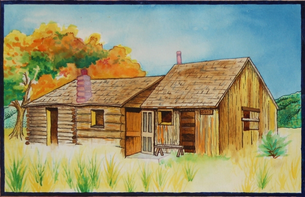 Ranch painting-Lifebook cover